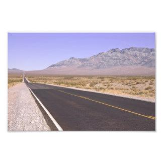 Carretera del este de California Impresión Fotográfica