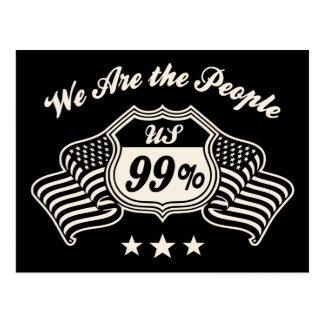 Carretera el 99% - bw tarjetas postales