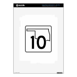 Carretera estatal 10 de Oklahoma Pegatinas Skins Para iPad 3