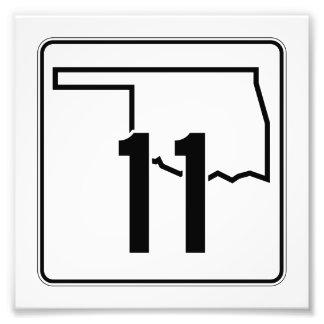 Carretera estatal 11 de Oklahoma Fotografía