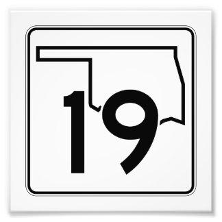 Carretera estatal 19 de Oklahoma Fotografía