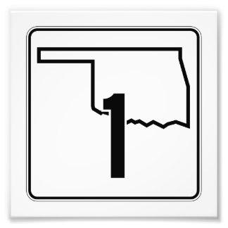 Carretera estatal 1 de Oklahoma Fotografías