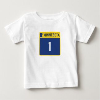 Carretera estatal 1, Minnesota, los E.E.U.U. Playera