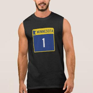 Carretera estatal 1, Minnesota, los E.E.U.U. Camisetas Sin Mangas