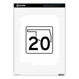 Carretera estatal 20 de Oklahoma iPad 3 Skins