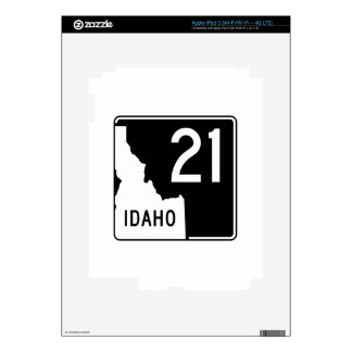 Carretera estatal 21 de Idaho Pegatina Skin Para iPad 3