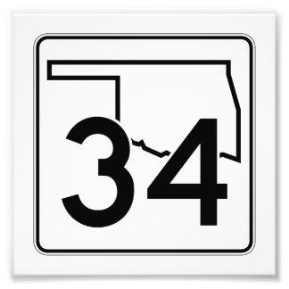 Carretera estatal 34 de Oklahoma Fotografías