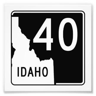 Carretera estatal 40 de Idaho Fotografía