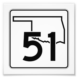 Carretera estatal 51 de Oklahoma Fotografías