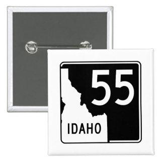 Carretera estatal 55 de Idaho Pin Cuadrado