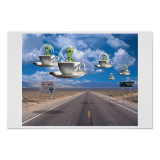 Carretera extraterrestre posters
