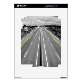 Carretera iPad 2 Skin