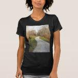 Carretera nacional de la bobina camiseta