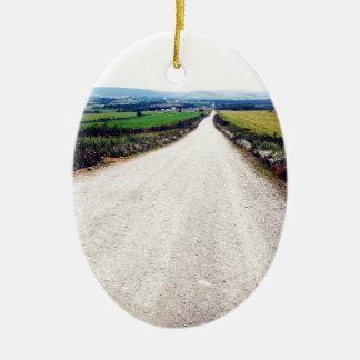 Carretera nacional ornamentos de navidad