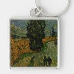 Carretera nacional en Provence - Van Gogh Llavero Personalizado