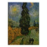Carretera nacional en Provence - Van Gogh Fotografía