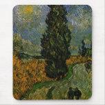 Carretera nacional en Provence - Van Gogh Tapete De Raton