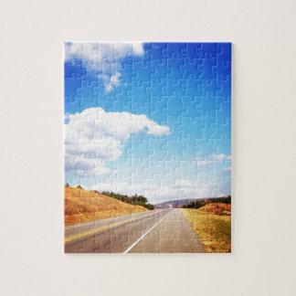 Carretera nacional rompecabezas con fotos