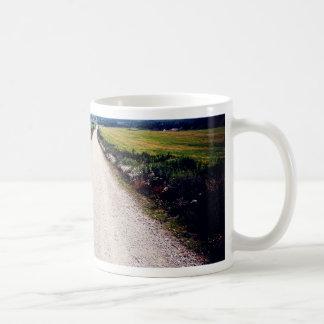 Carretera nacional taza de café