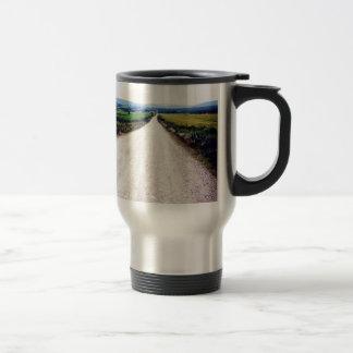 Carretera nacional tazas de café