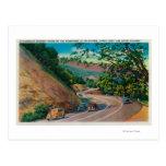 Carretera pintoresca del Los Gatos cerca de Santa Tarjeta Postal