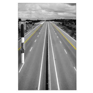 Carretera Tablero Blanco