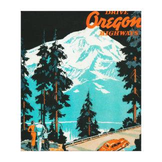 Carreteras de Oregon que hacen publicidad del post Lona Estirada Galerías