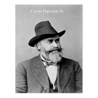 Carretero Harrison, alcalde asesinado de Chicago Tarjetas Postales