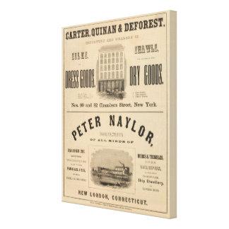 Carretero, Quinan y Deforest a Peter Naylor Impresiones En Lona