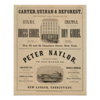 Carretero, Quinan y Deforest a Peter Naylor Póster