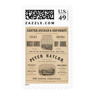 Carretero, Quinan y Deforest a Peter Naylor Timbres Postales