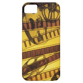 Carretes de oro de la película de la película iPhone 5 Case-Mate cárcasas