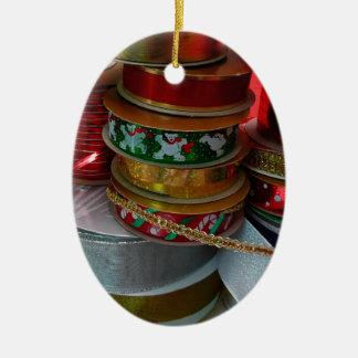 Carretes del ornamento de la cinta del navidad ornamentos de reyes magos