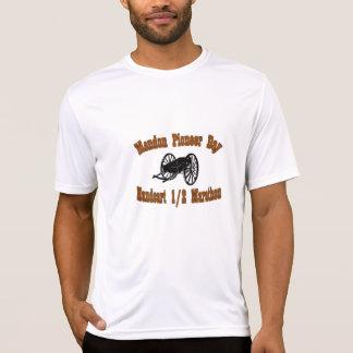 Carretilla de mano pionera el 1/2 del día de camisetas