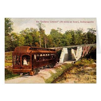 Carretilla eléctrica 1915 de Indianapolis, Indiana Tarjeta De Felicitación