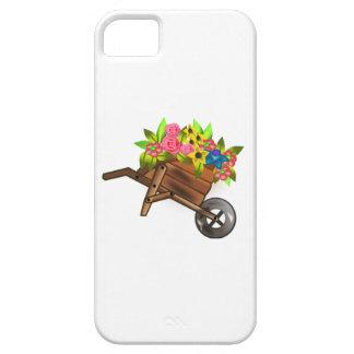 Carretilla por completo de flores iPhone 5 Case-Mate carcasas