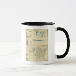 Carriage by water, canals, canal routes mug