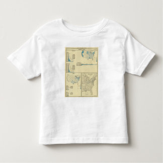 Carriage by water, canals, canal routes toddler t-shirt