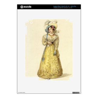 Carriage Costume, fashion plate from Ackermann's R Skins For iPad 3