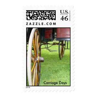 Carriage Days stamp