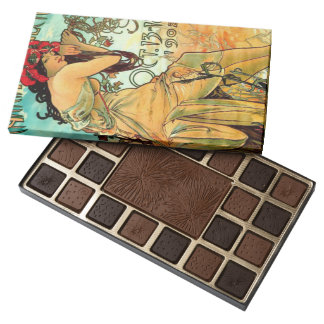 Carriage Dealers Expo 1902 45 Piece Box Of Chocolates