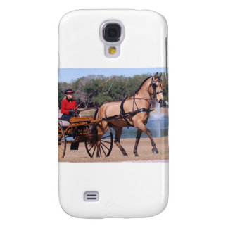 Carriage Driving Galaxy S4 Cover