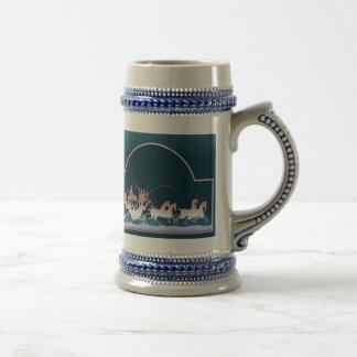 CARRIAGE & HORSES by SHARON SHARPE Coffee Mug