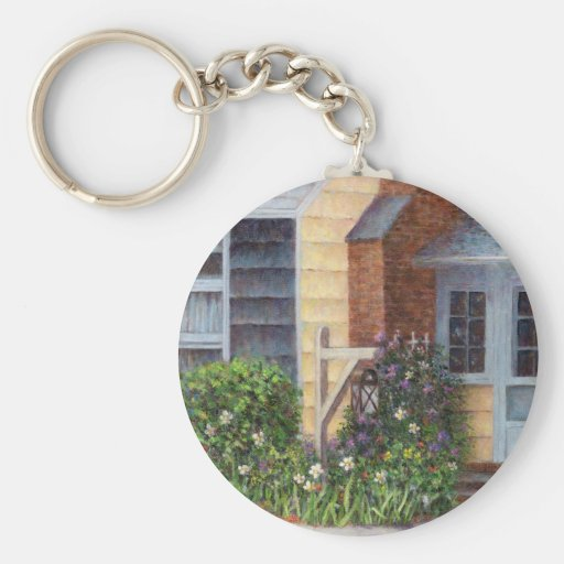 Carriage Lamp Key Chains