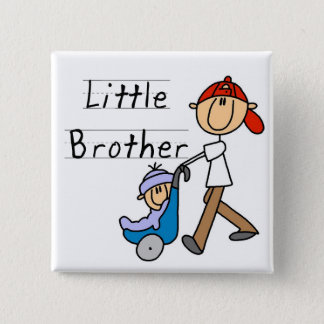 Carriage Little Brother Tshirts and Gifts Button