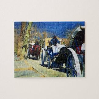 Carriage Ride Central Park Puzzle