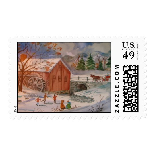 Carriage Ride Postage