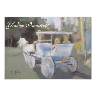 Carriage Ride Sightseeing Card