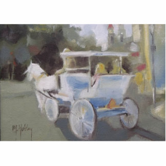 Carriage Ride Sightseeing Statuette