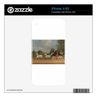 Carriage Ride Skin For iPhone 4S
